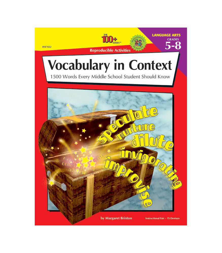 Vocabulary in Context Workbook Product Image