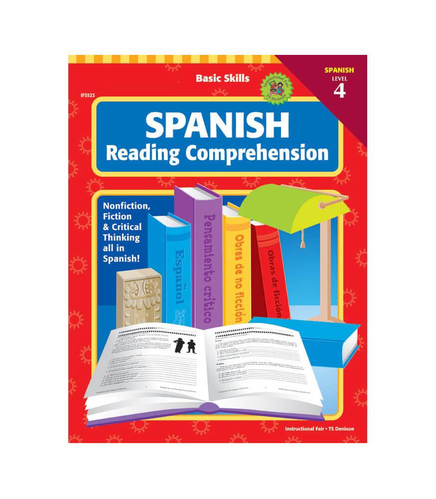 Basic Skills Spanish Reading Comprehension, Level 4 Workbook Product Image