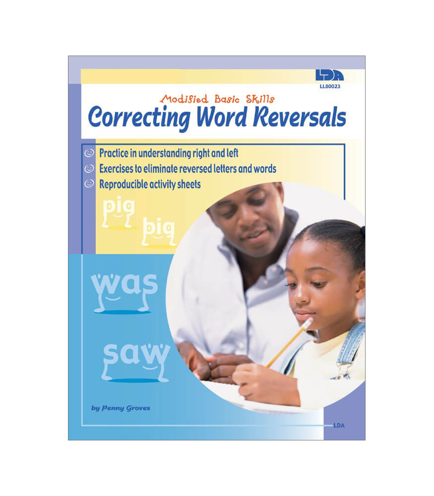 Correcting Word Reversals Resource Book Product Image