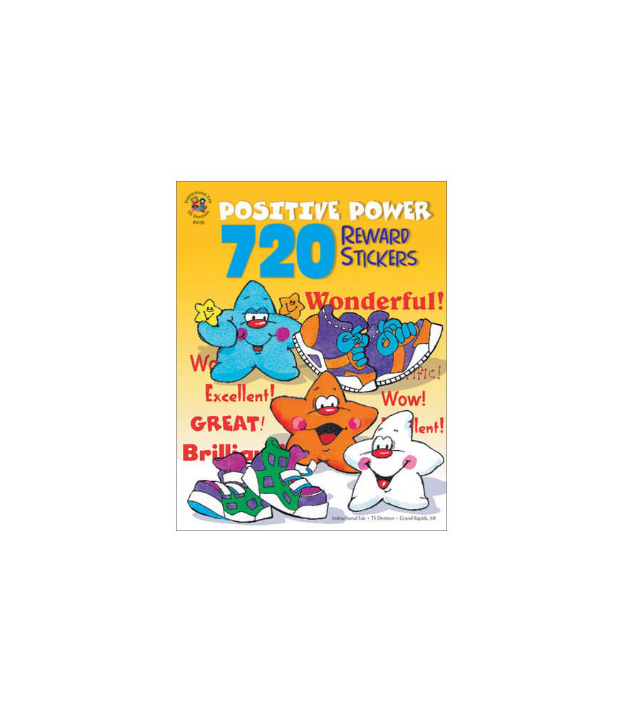 720 Positive Power Reward Stickers Sticker Book
