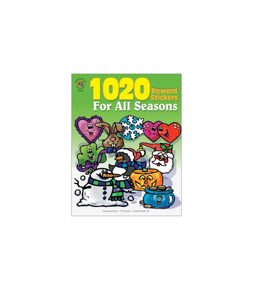1020 Reward Stickers For All Seasons Sticker Book