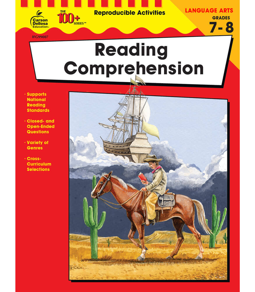 Reading Comprehension Resource Book Product Image
