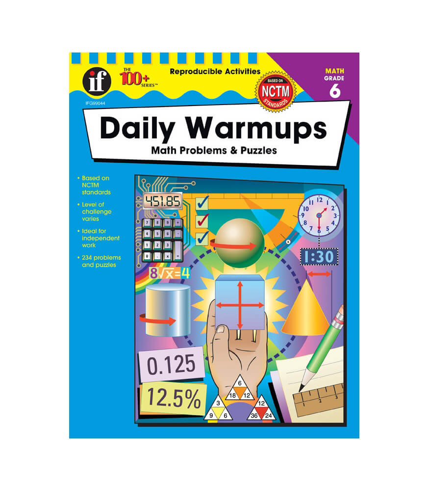 Daily Warmups Workbook Grade 6