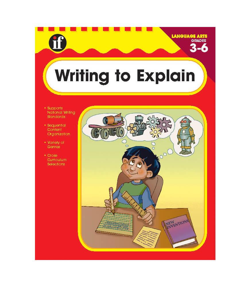 Writing to Explain Workbook Product Image