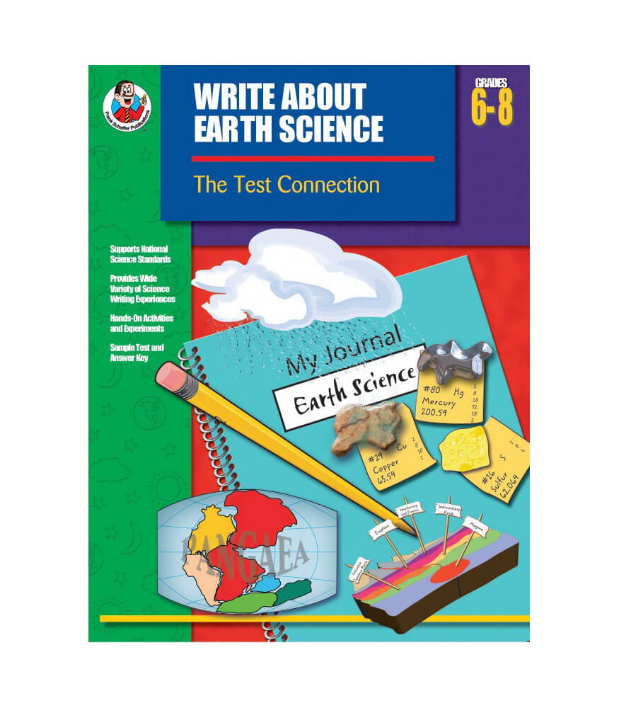 Write About Earth Science Resource Book Product Image