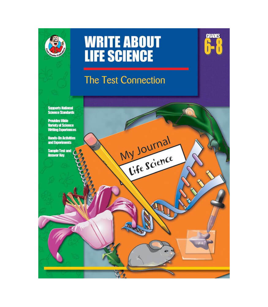 Write About Life Science Resource Book Product Image