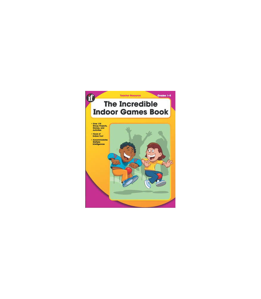 The Incredible Indoor Games Book Resource Book Product Image