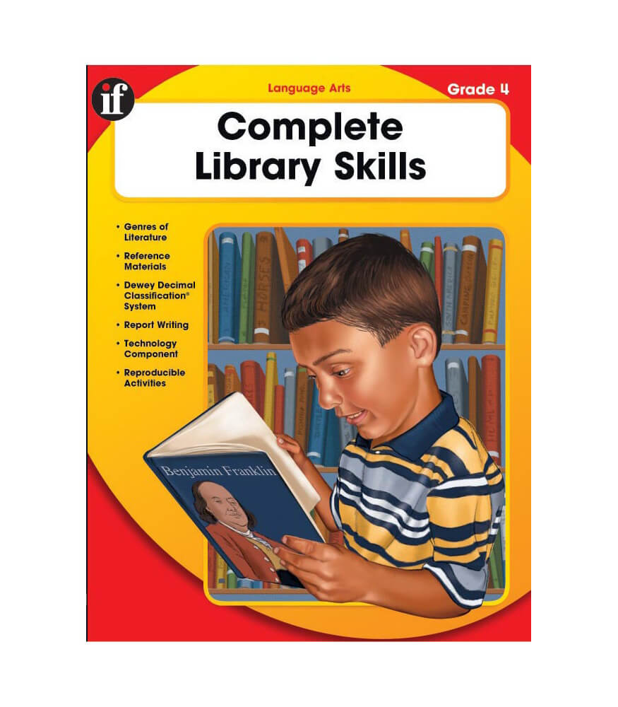 Complete Library Skills Resource Book Product Image