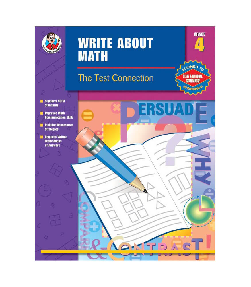 Write About Math Resource Book Grade 4