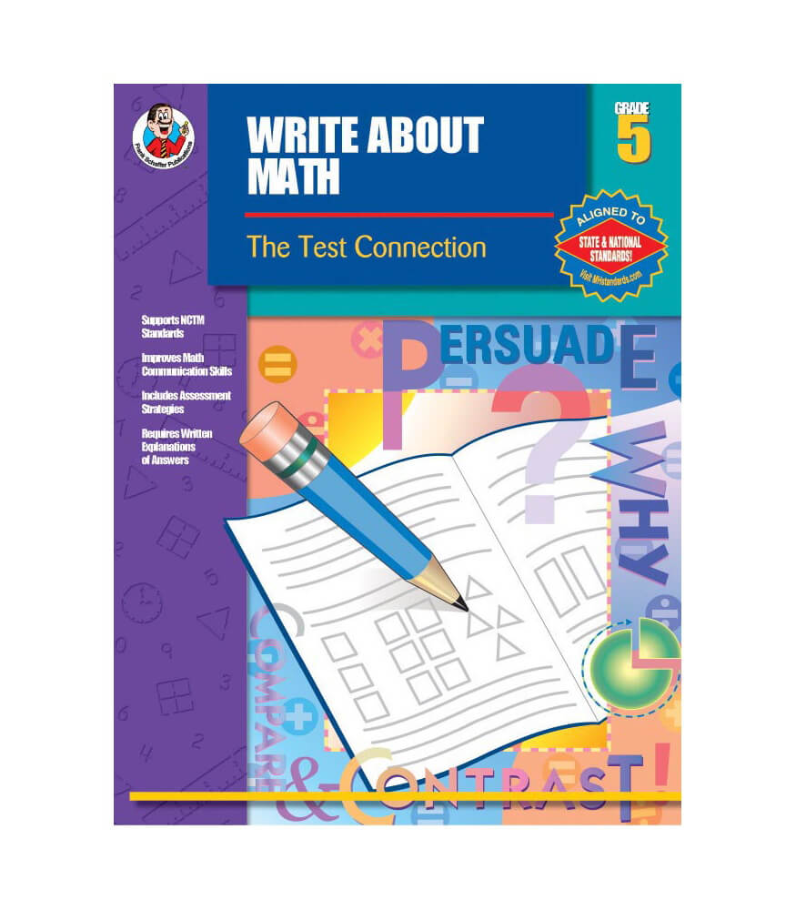 Write About Math Resource Book Product Image