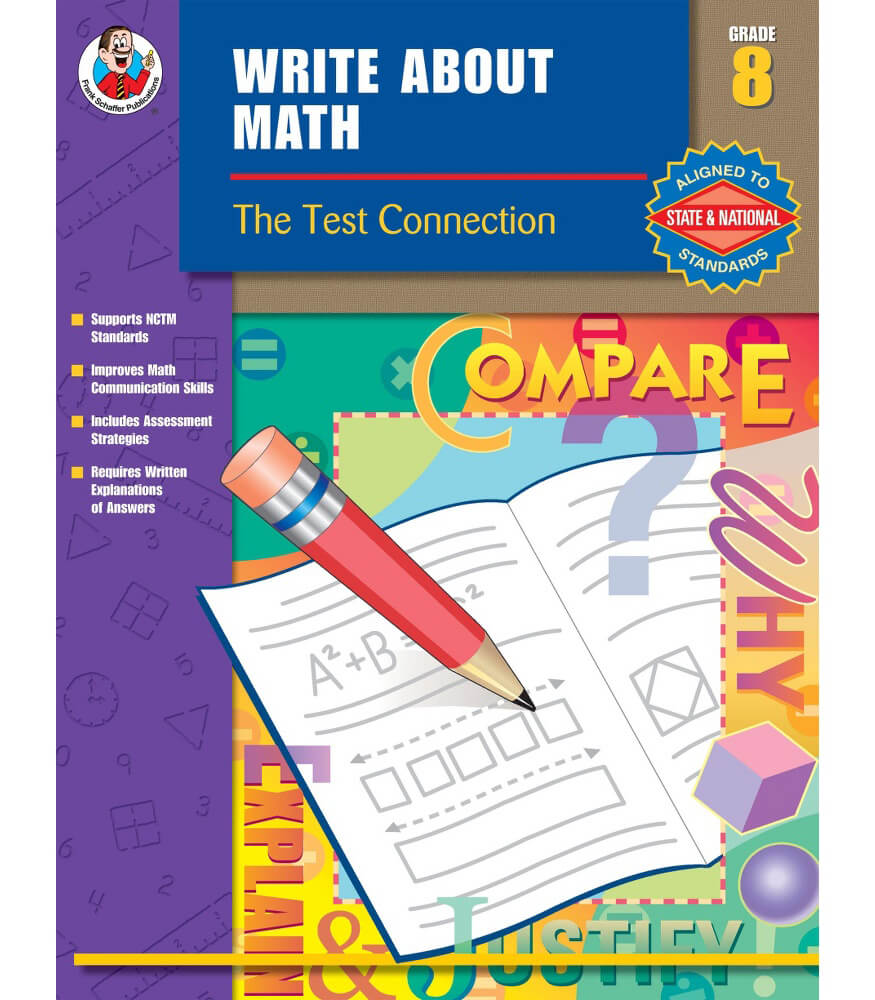 Write About Math Resource Book Grade 8