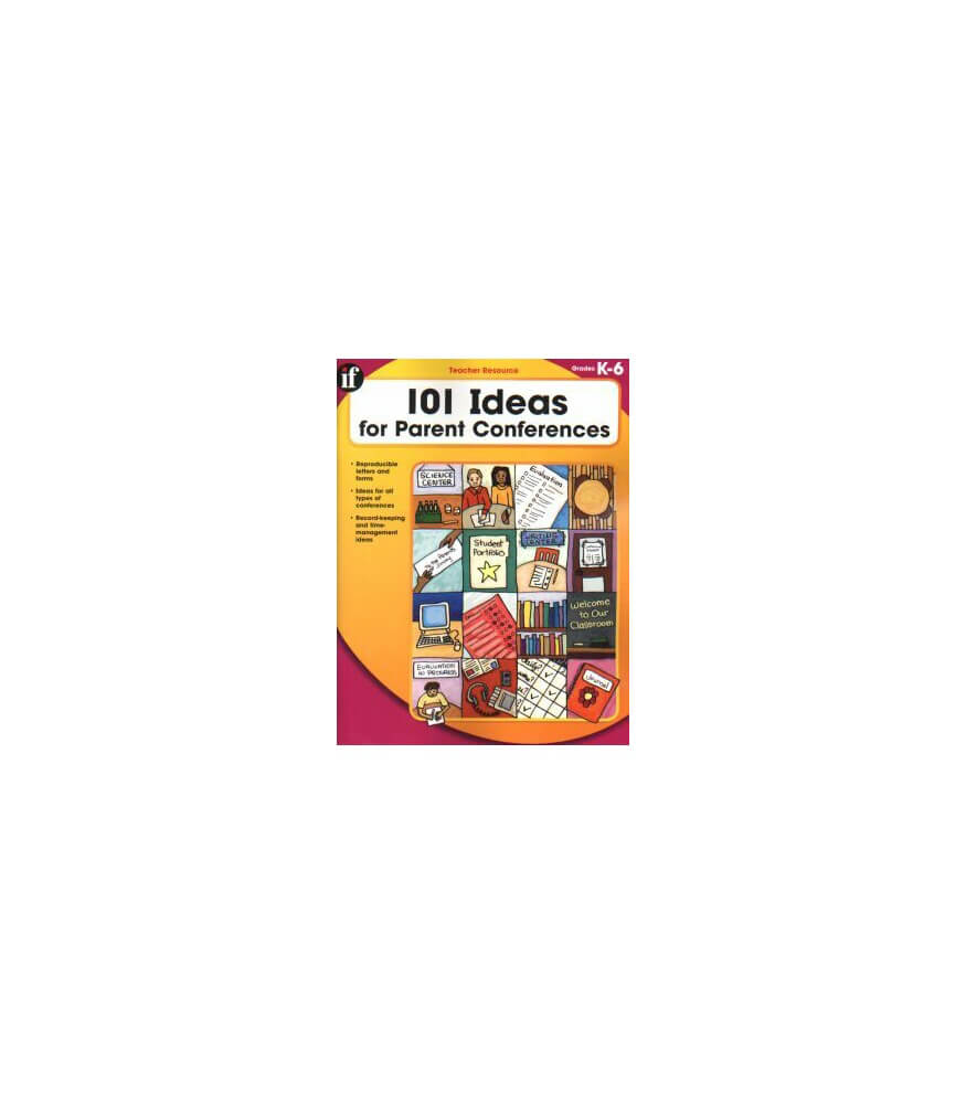 101 Ideas for Parent Conferences Resource Book Product Image