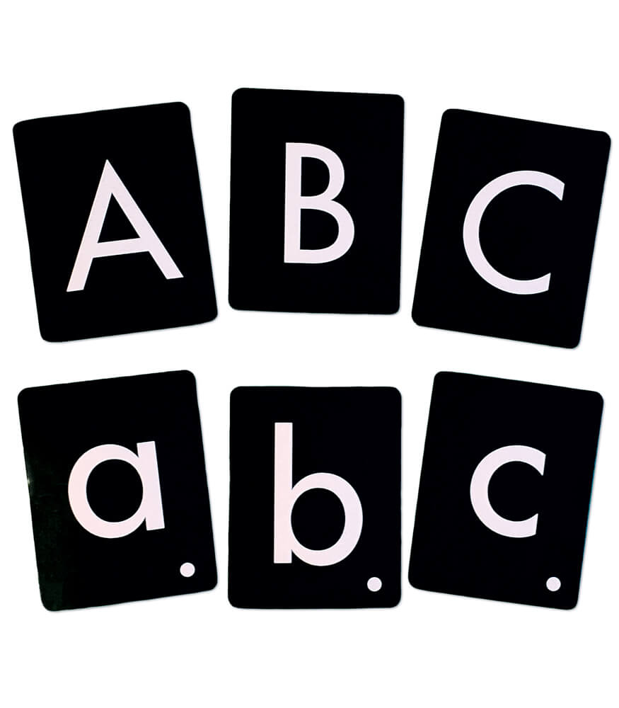Tactile Letters Kit Manipulative Product Image