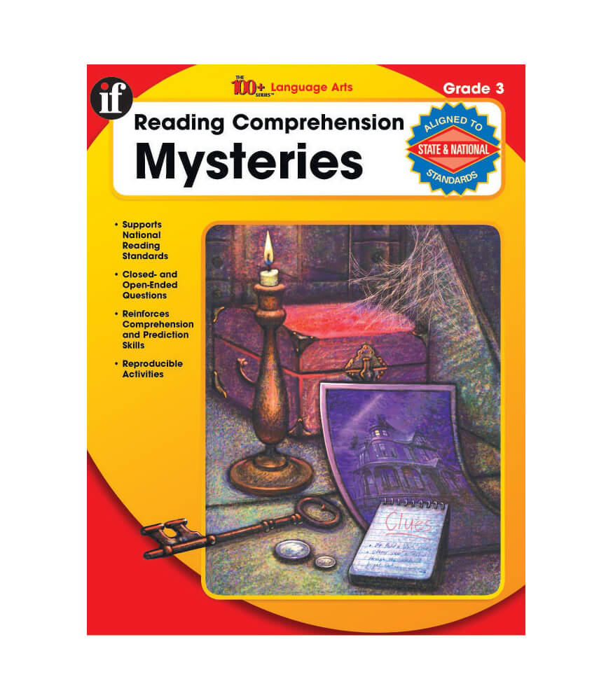 Reading Comprehension Mysteries Resource Book Product Image