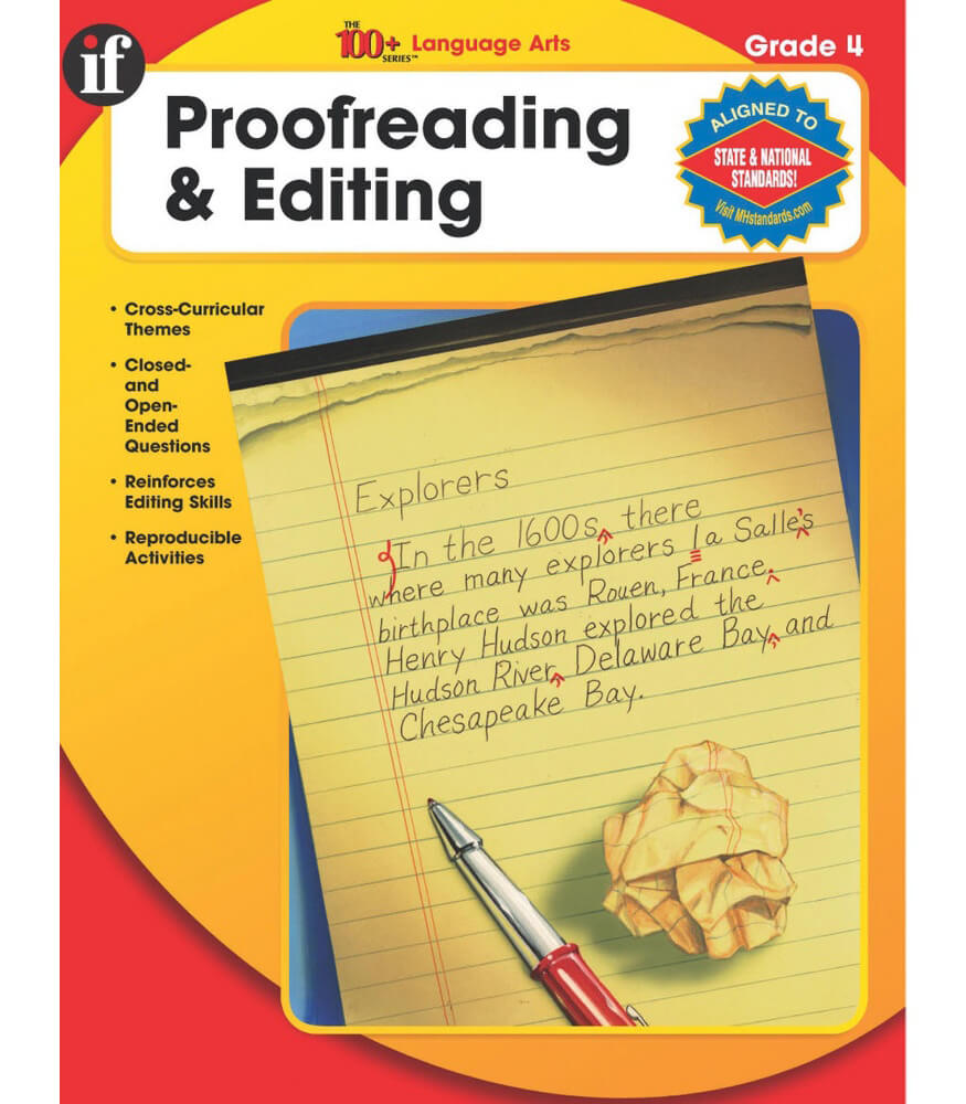 The 100+ Series Proofreading & Editing Workbook Product Image
