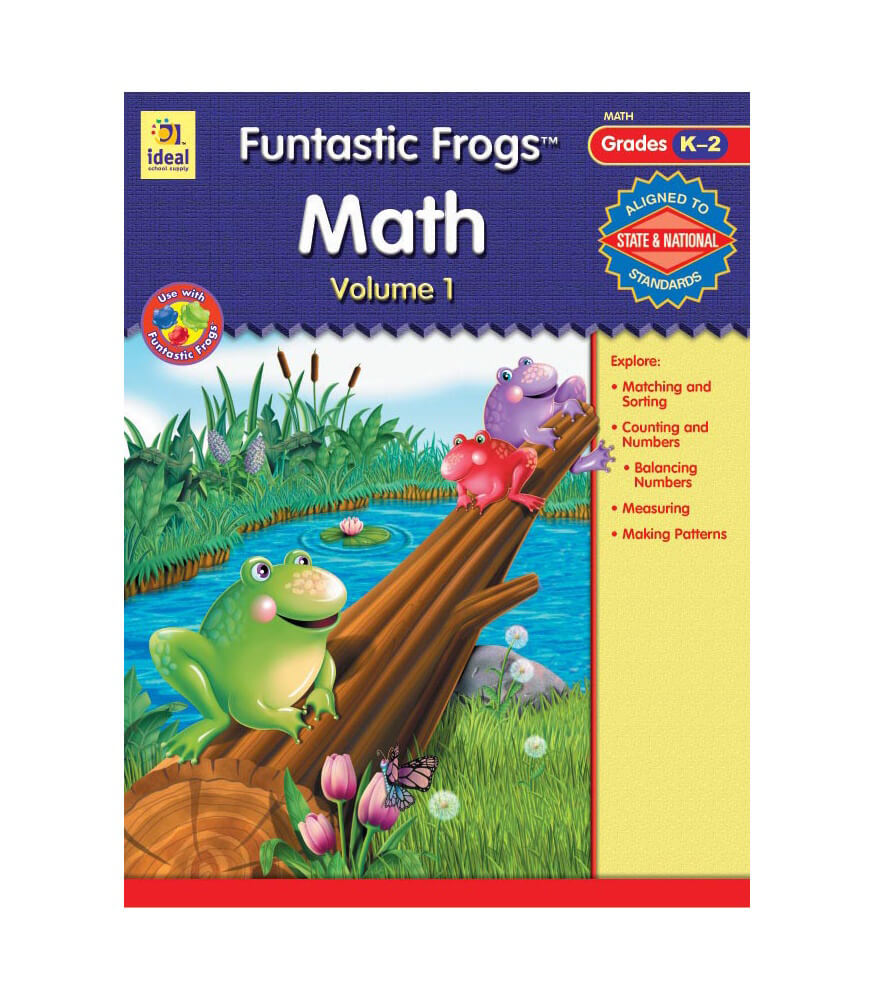 Funtastic Frogs Math, Volume 1 Workbook Product Image