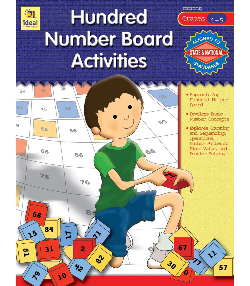 Hundred Number Board Activities Resource Book Product Image