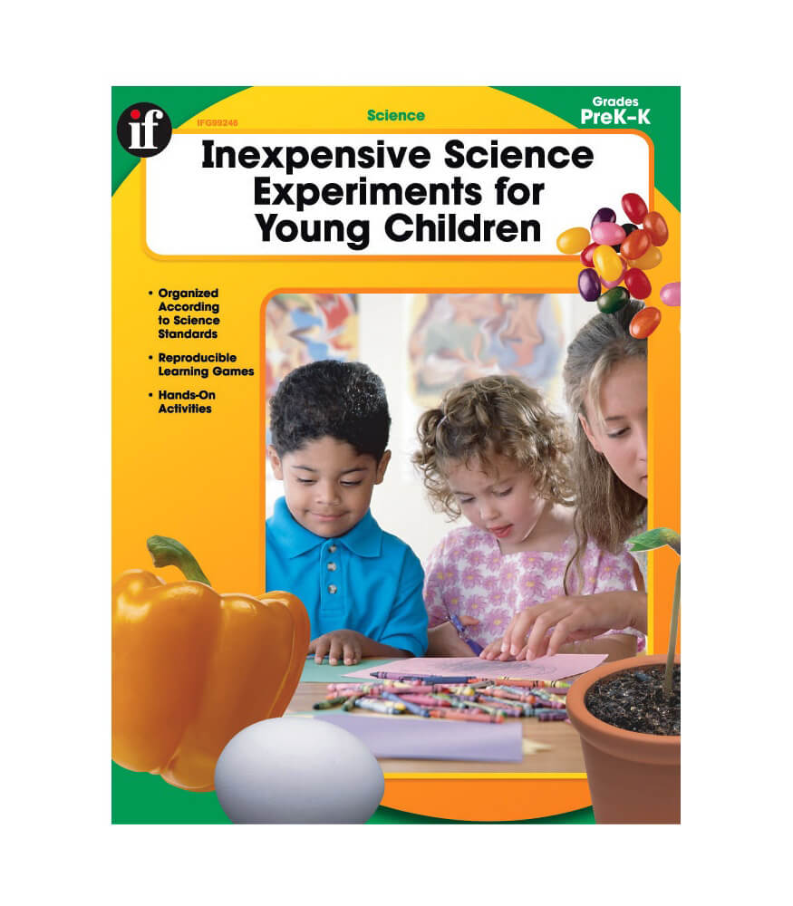 Inexpensive Science Experiments for Young Children Resource Book Product Image