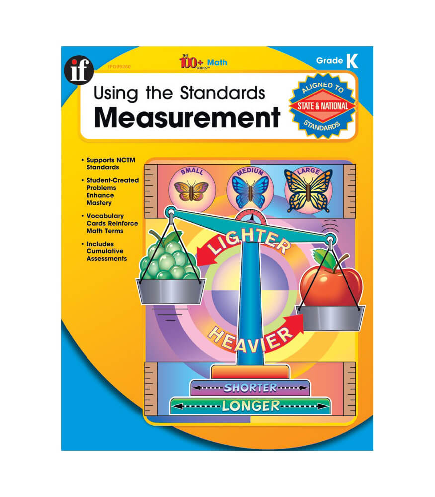 Using the Standards: Measurement Workbook Product Image