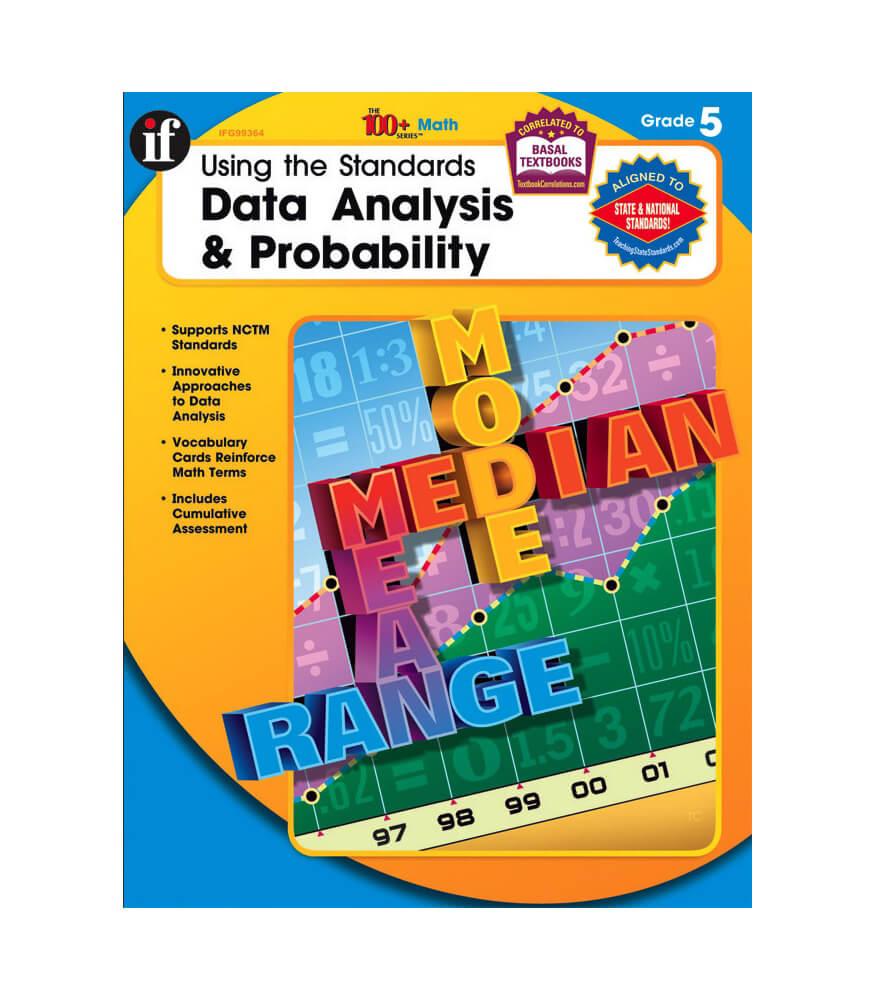 Using the Standards - Data Analysis & Probability Workbook Product Image