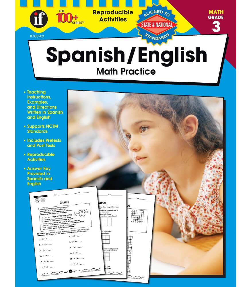Math Practice Resource Book Product Image