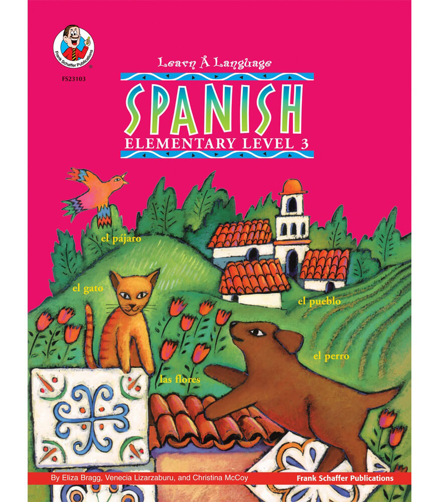 Learn-A-Language Books Spanish Workbook Product Image