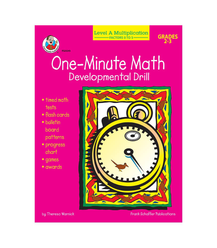 Multiplication: Factors 0 to 5 Resource Book Product Image