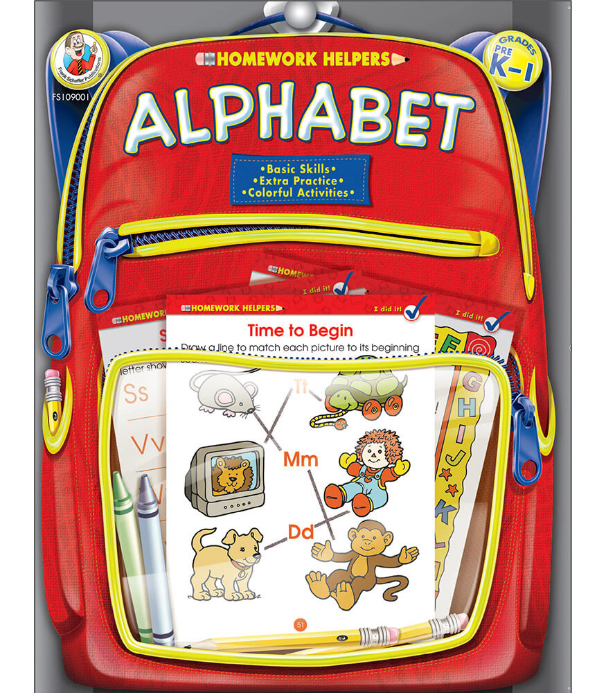 Alphabet Workbook Product Image