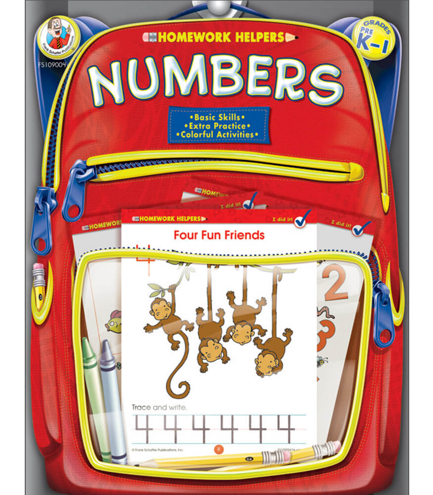 Numbers Workbook Product Image