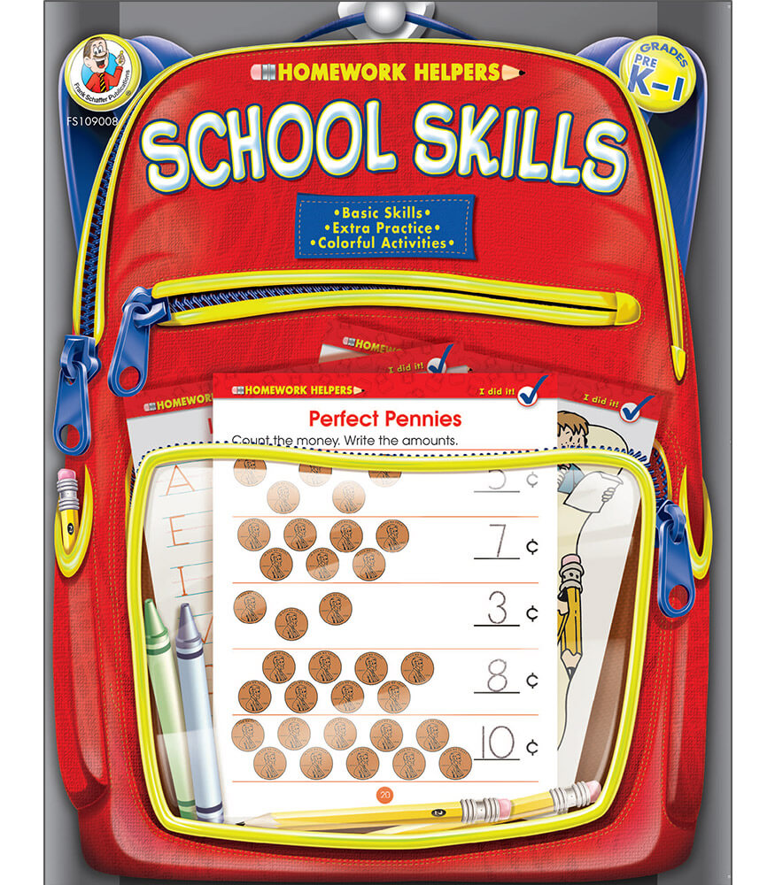 School Skills Workbook Product Image