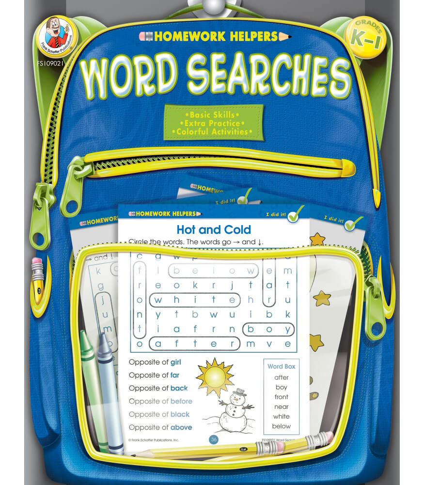 Word Searches Activity Book Product Image