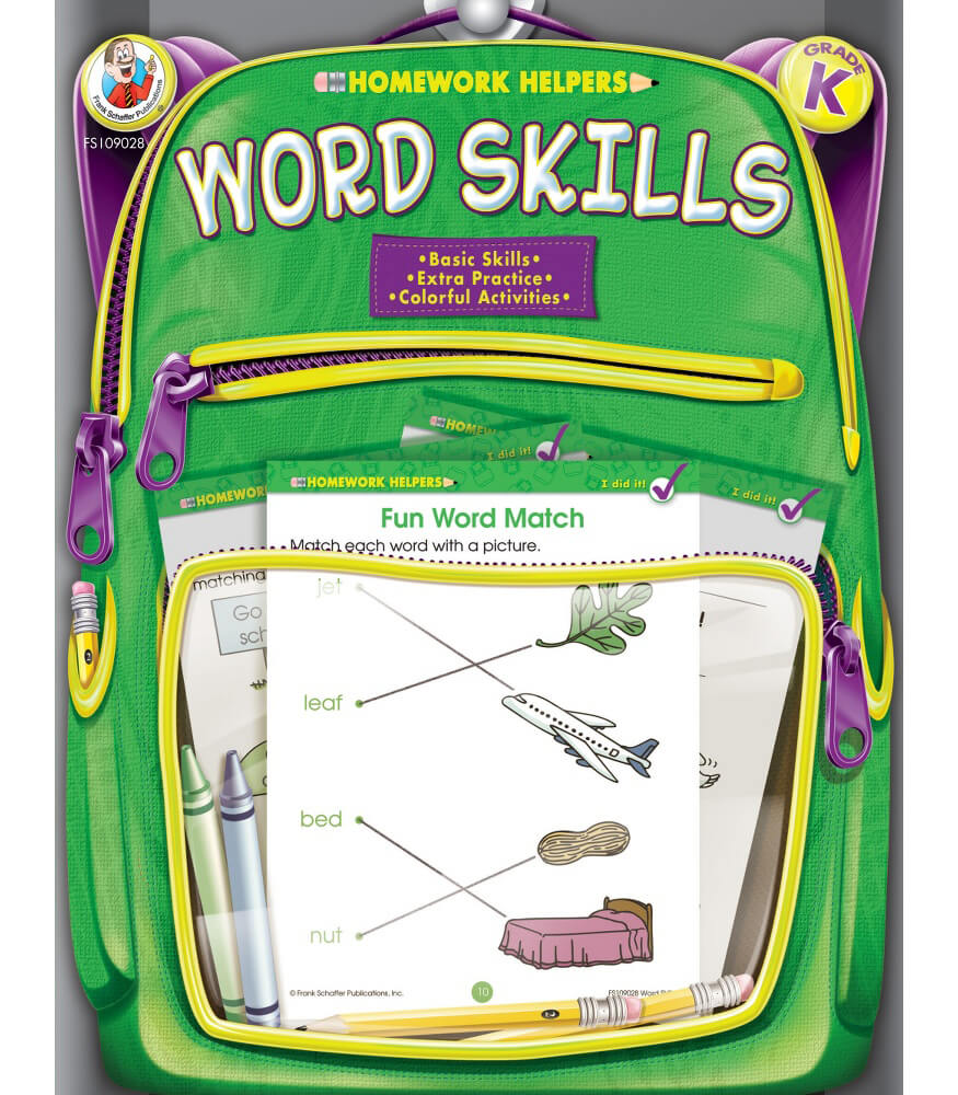 Word Skills Workbook Product Image