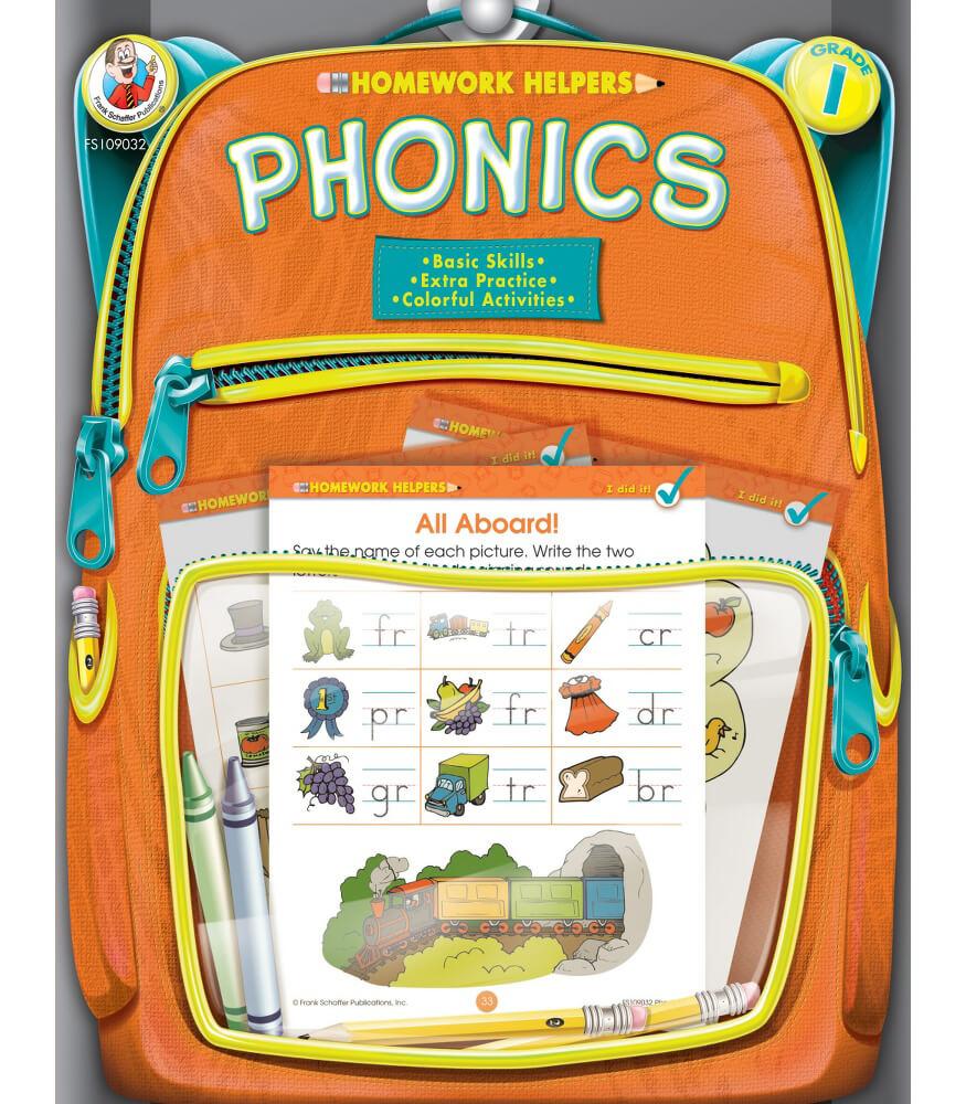 Homework Helper Phonics Workbook Product Image