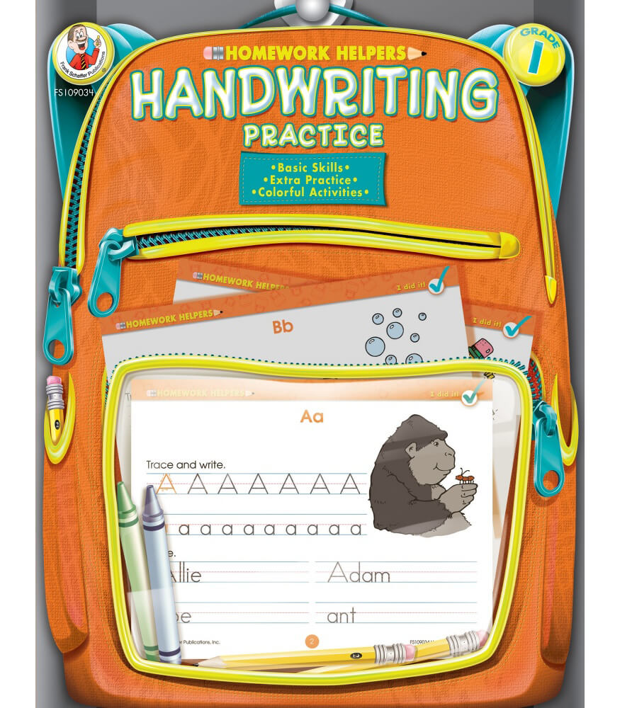 Workbooks practice workbook : Handwriting Practice Workbook Grade 1 | Carson-Dellosa Publishing