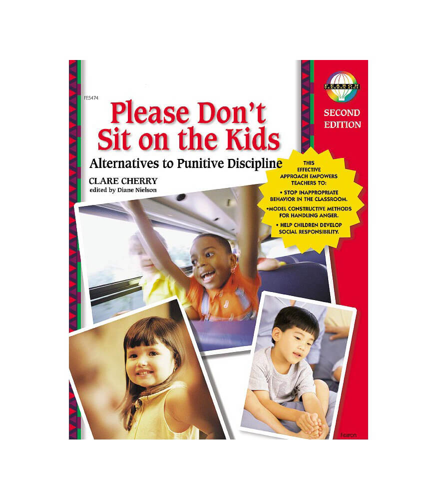 Please Don't Sit on the Kids Resource Book Product Image