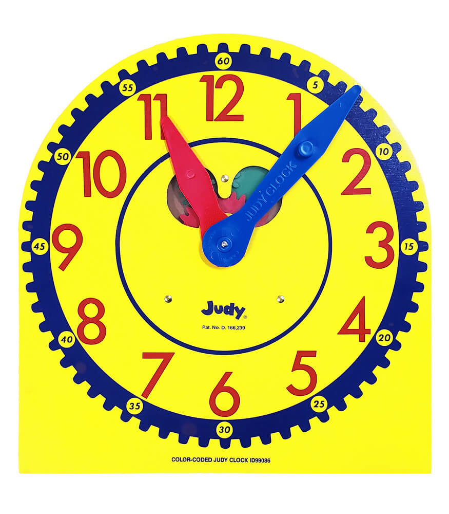 Color-Coded Judy® Clock Product Image