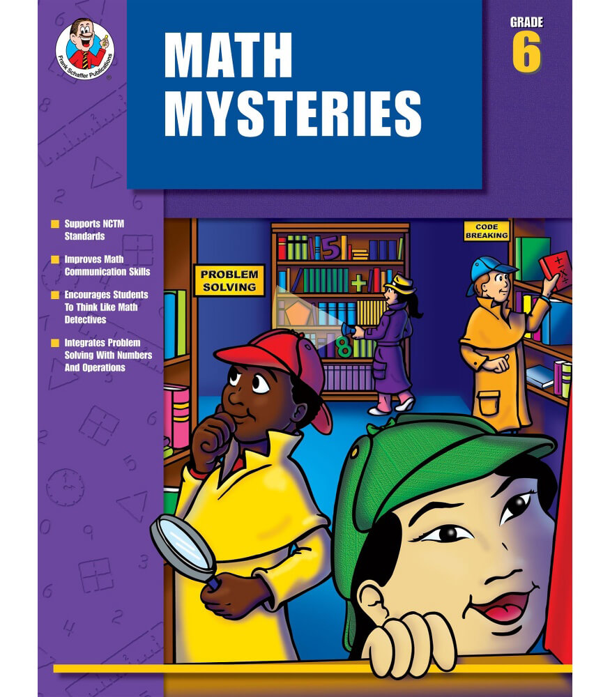 Math Mysteries Resource Book Product Image