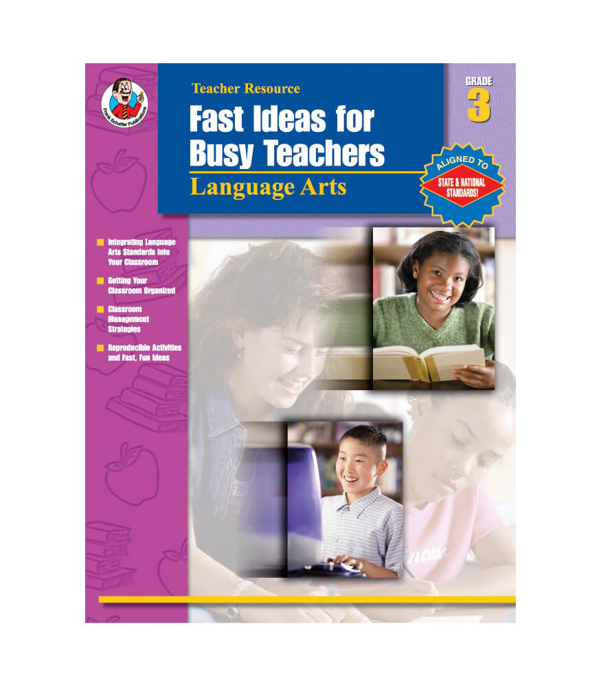 Fast Ideas for Busy Teachers: Language Arts Resource Book Product Image