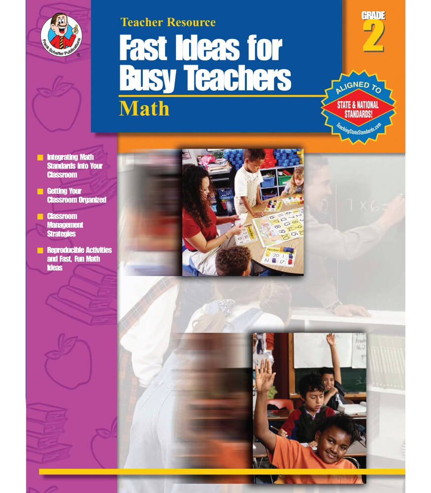Fast Ideas for Busy Teachers: Math Resource Book Product Image