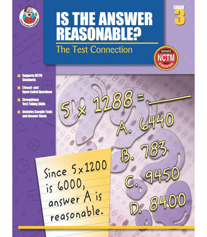 Is the Answer Reasonable? Resource Book Product Image