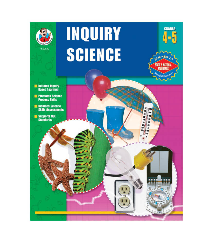 Inquiry Science Workbook Product Image