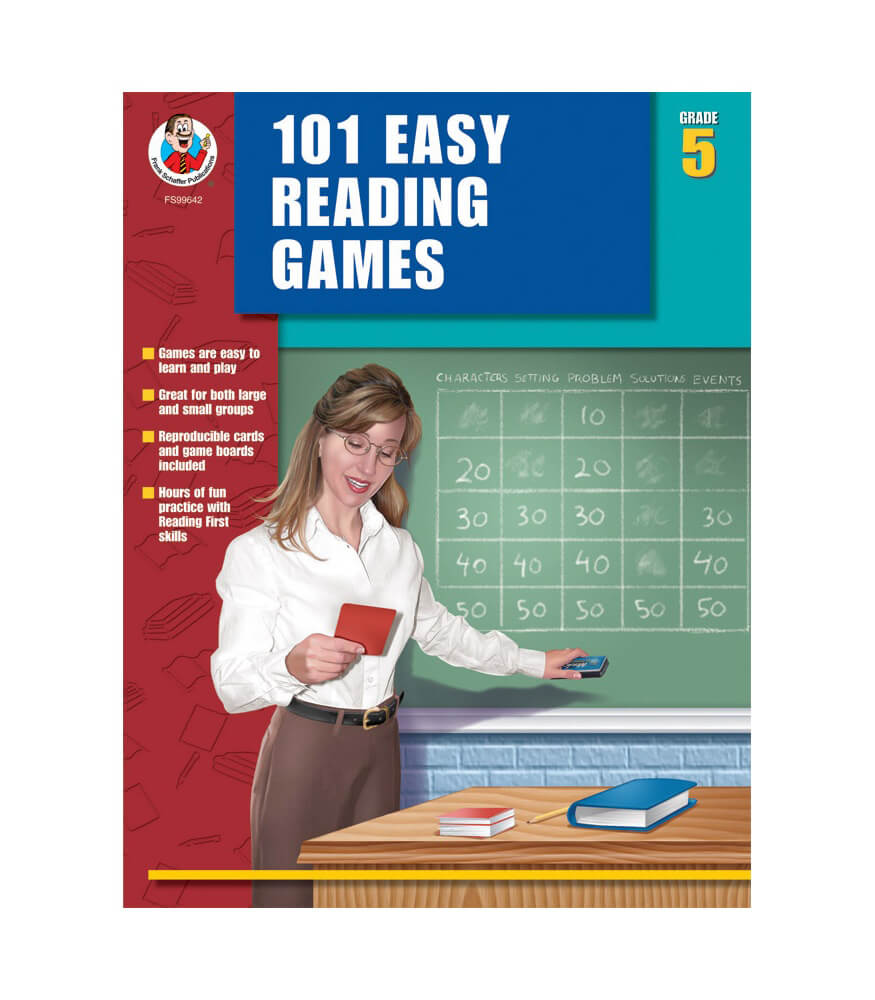 101 Easy Reading Games Resource Book Product Image