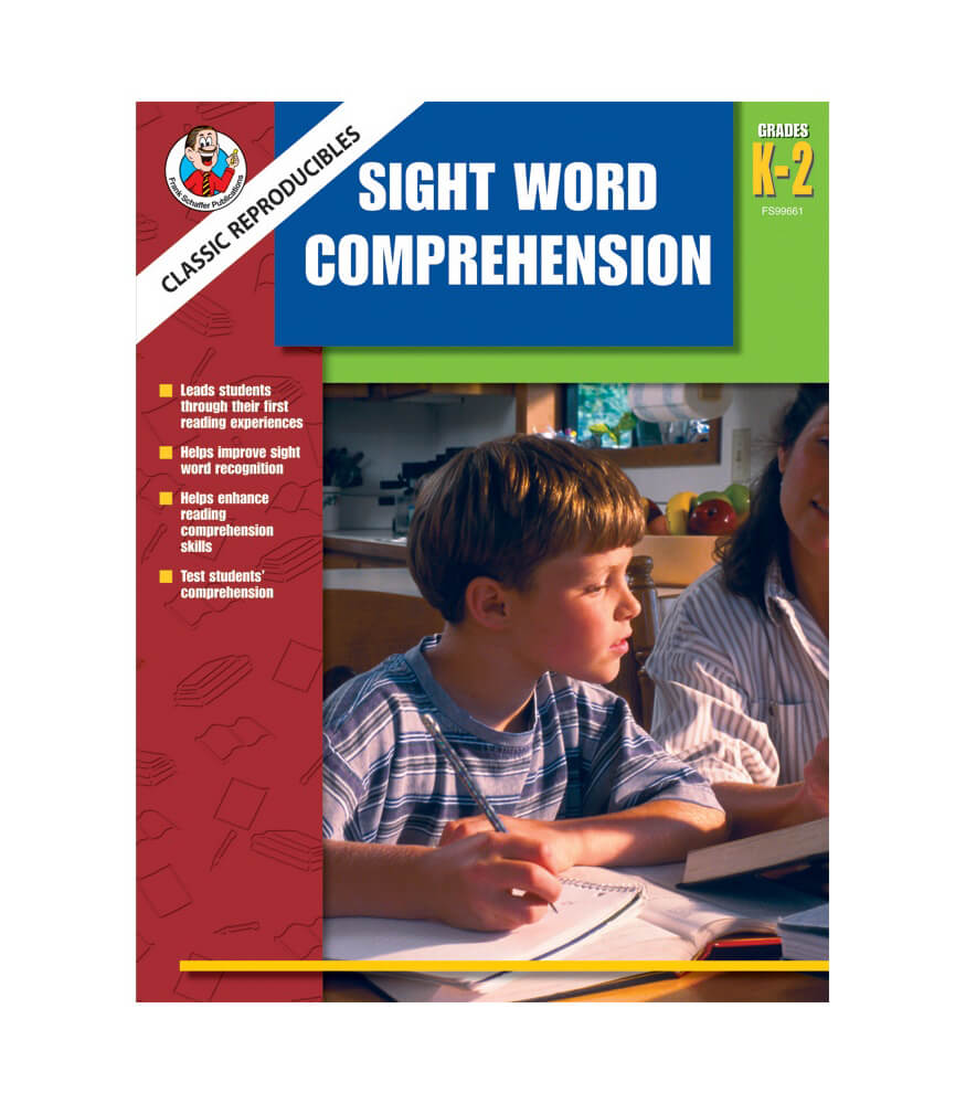 Classic Reproducibles Sight Word Comprehension Resource Book Product Image