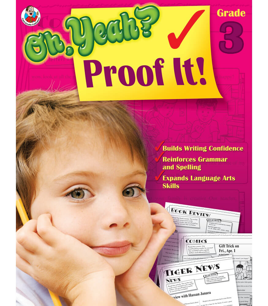 Oh Yeah? Proof It! Workbook Product Image