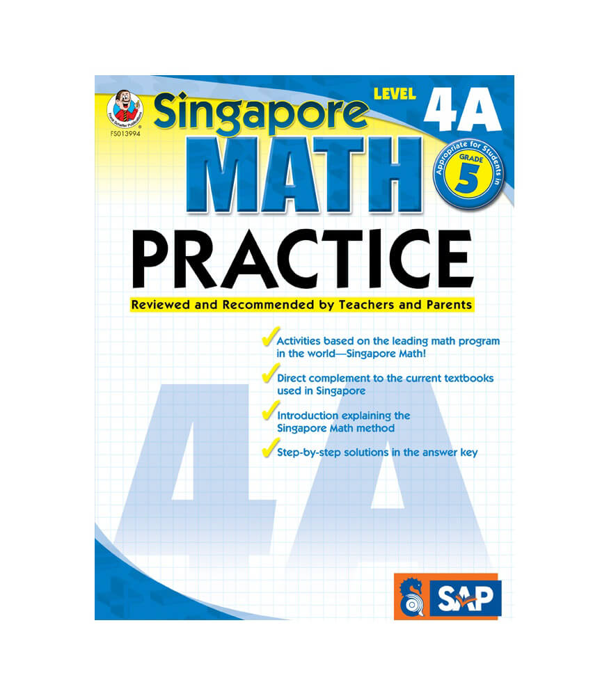 Math Practice Workbook Grade 5