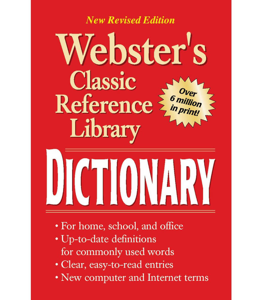 Webster's Dictionary Resource Book Product Image