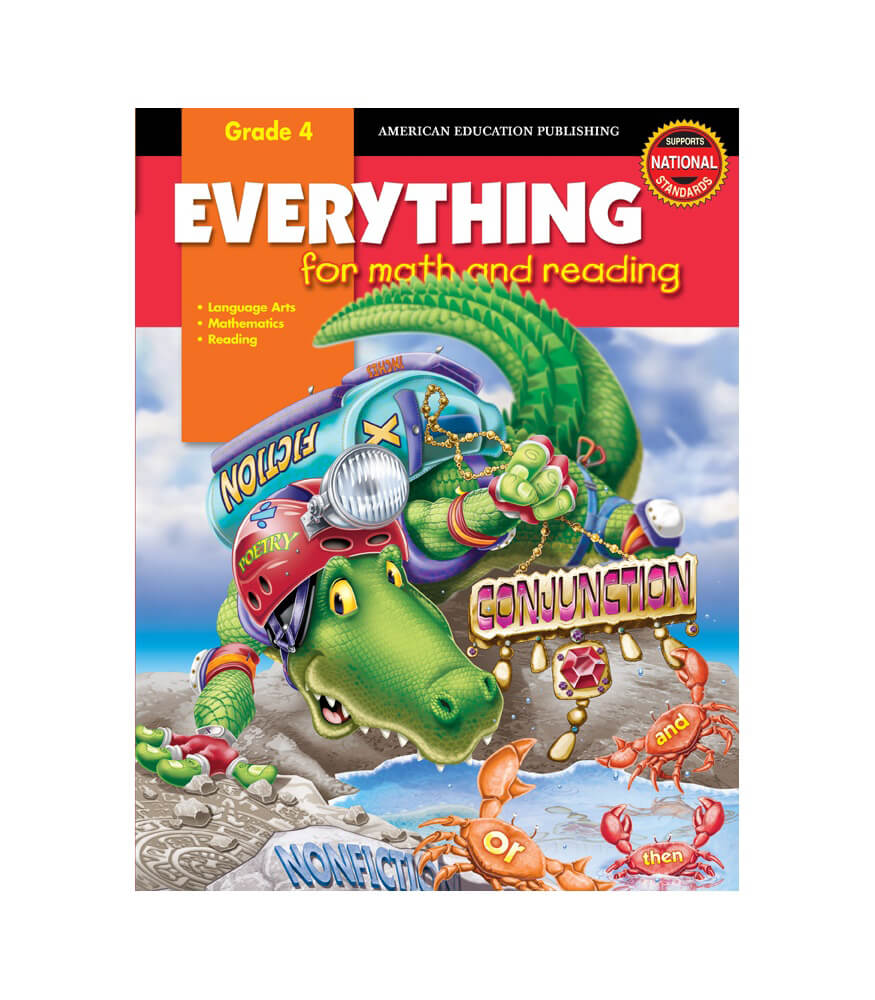 Everything for Math and Reading Workbook Product Image
