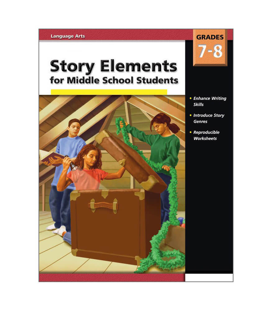 Story Elements Middle School Resource Book Product Image