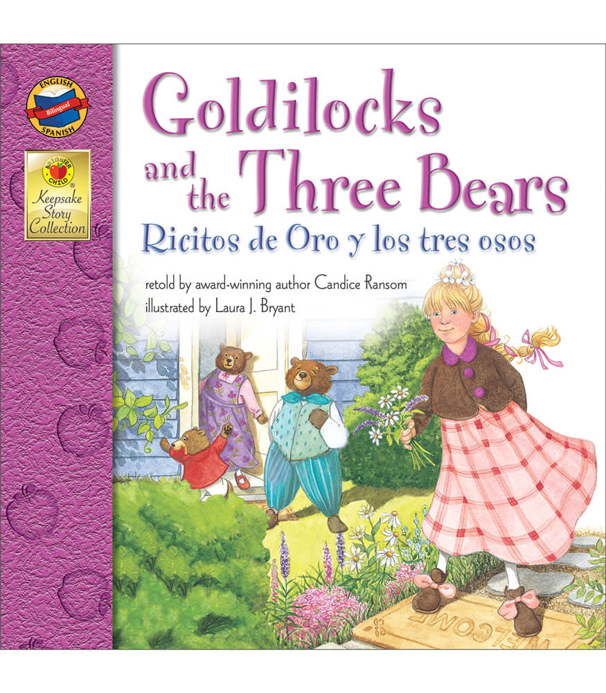 Goldilocks and the Three Bears Bilingual Storybook Product Image