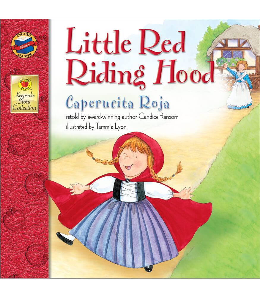 Little Red Riding Hood Bilingual Storybook Product Image